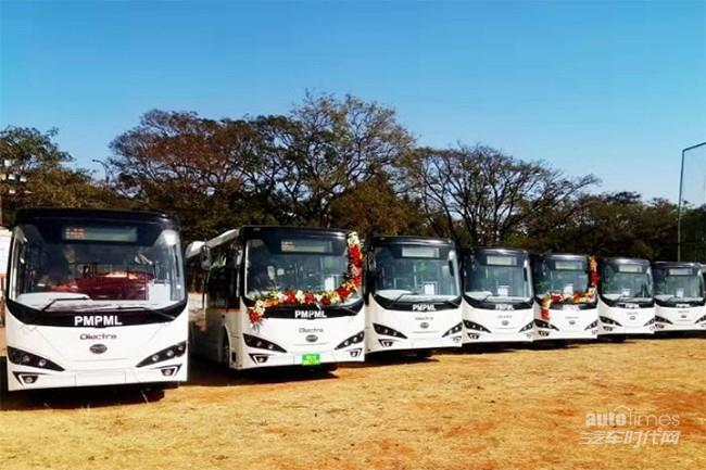 印度汽车重镇浦那追加订单125台比亚迪打造当地最大纯电动大巴车队【汽车时代网】