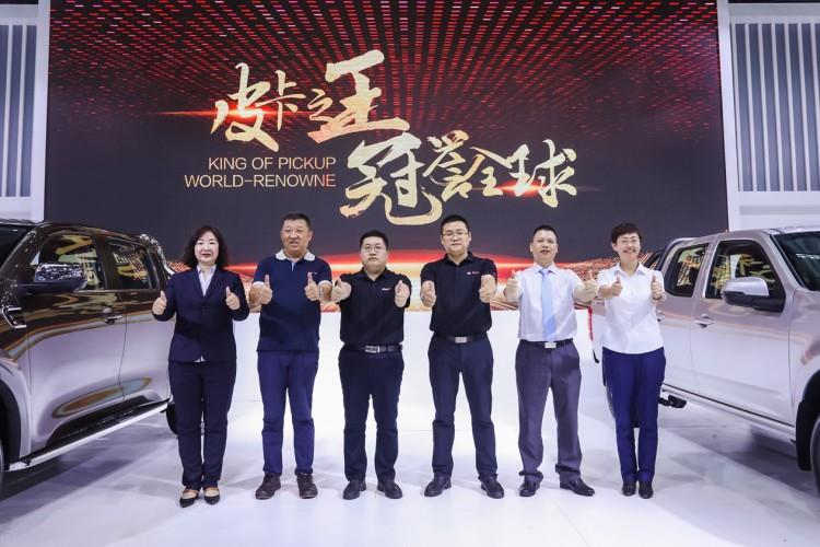 中国首款柴油国六皮卡风骏7全国首发
