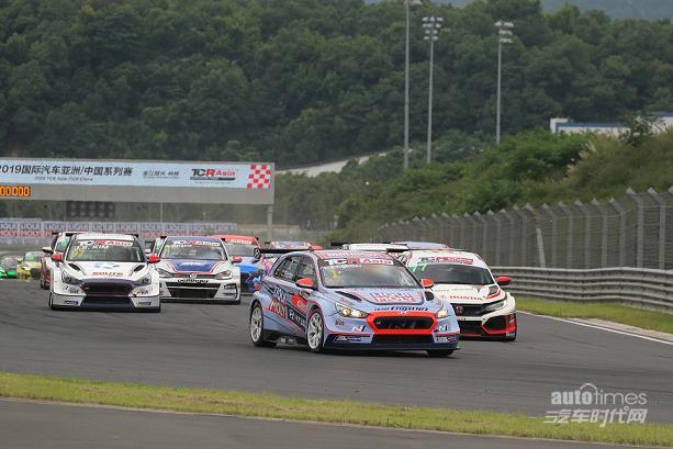 现代N品牌高性能赛车i30 N TCR在TCR亚洲系列赛中国赛区构建三连冠