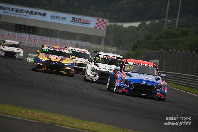 现代N品牌高性能赛车i30NTCR在TCR亚洲系列赛中国赛区实现三连冠【汽车时代网】