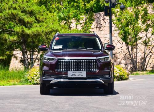 高颜值外表匹配宝马技术发动机猎豹Mattu刷新国产SUV标准【汽车时代网】