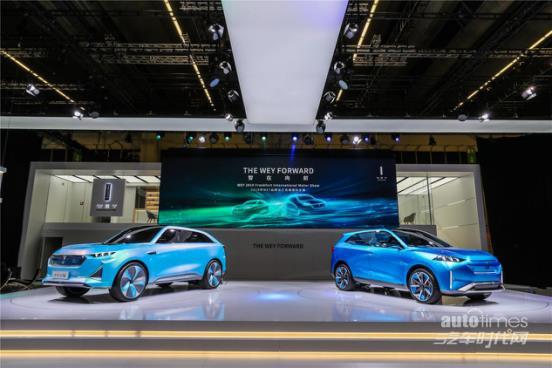 长城汽车携WEY与四大零部件品牌亮相2019法兰克福车展