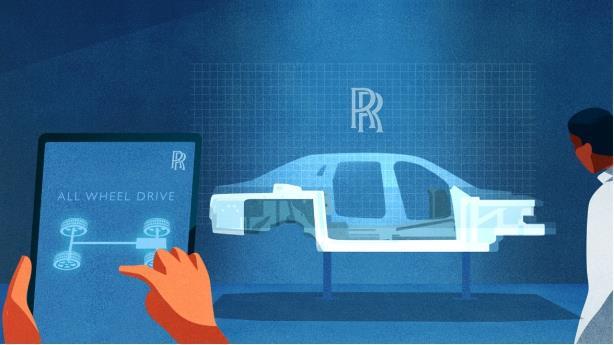 劳斯莱斯汽车揭晓全新古思特专属车辆工程技术