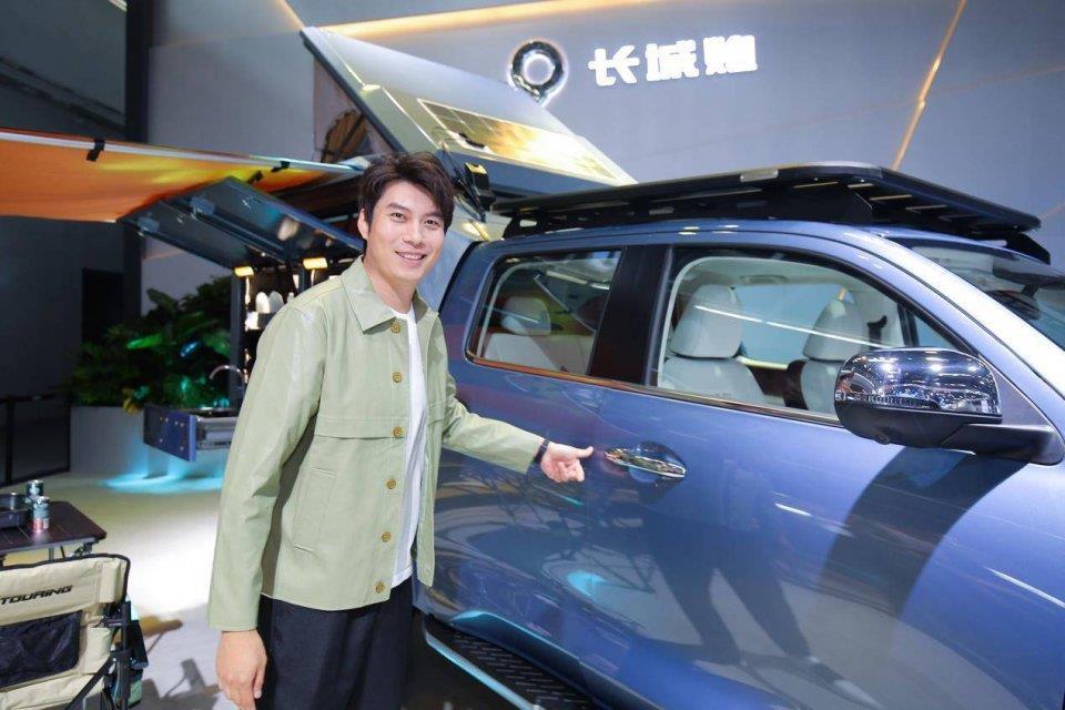 长城炮商用电装炮北京车展正式上市