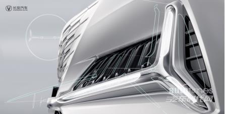 穿越未来之门 长安高端产品序列UNI第二款车型细节图曝光