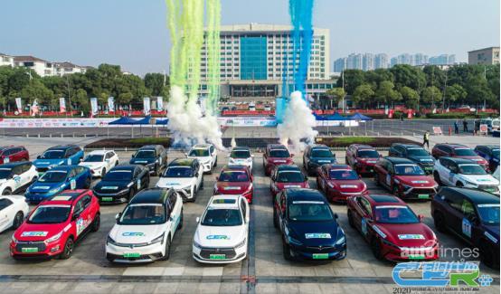 夺冠!汉EV扬威2020中国新能源汽车拉力锦标赛
