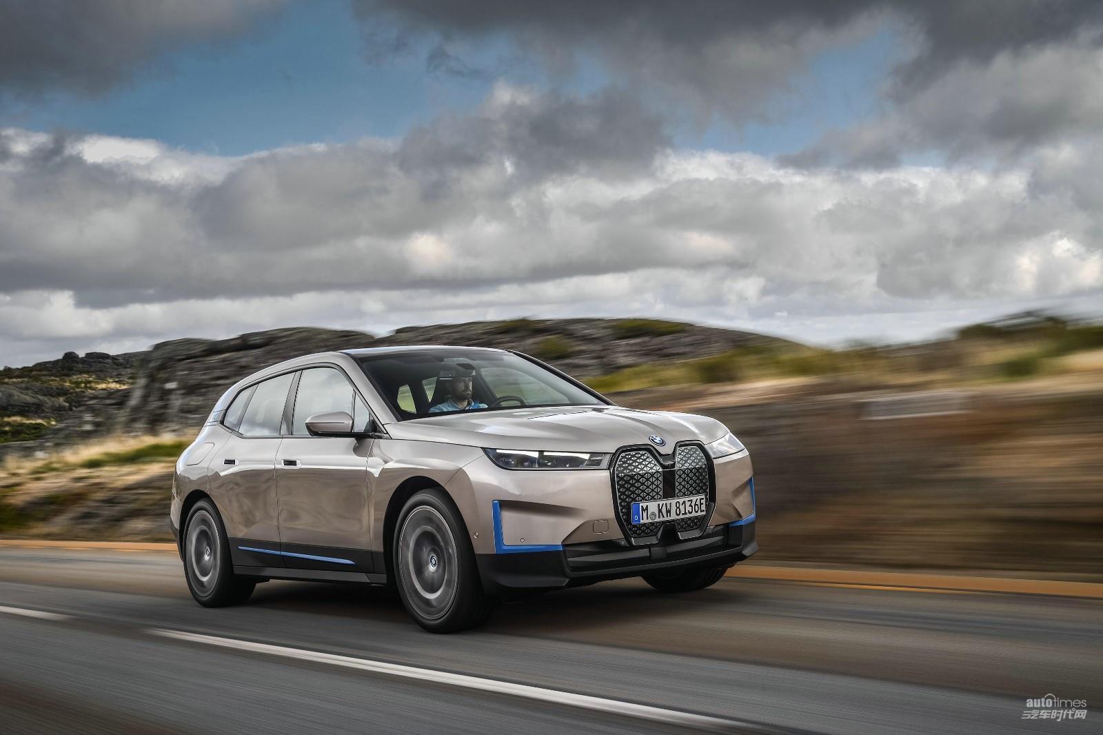 創新純電動BMW iX迎來全球首秀未來智能豪華移動空間【汽車時代網】