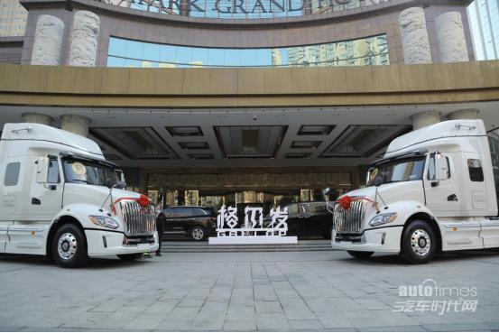 21款国六车型亮相 江淮格尔发商务年会召开