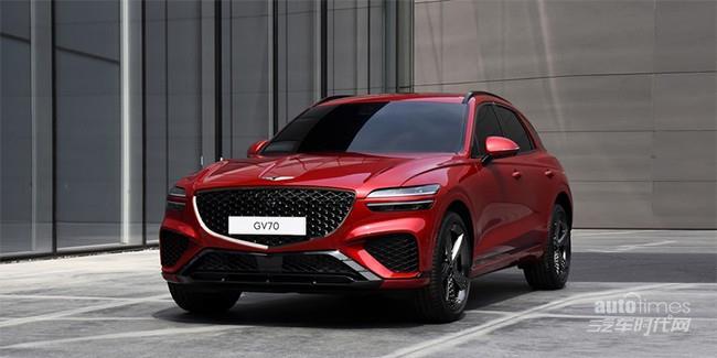 全新中型SUV捷尼赛思GV70发布 定位中型SUV