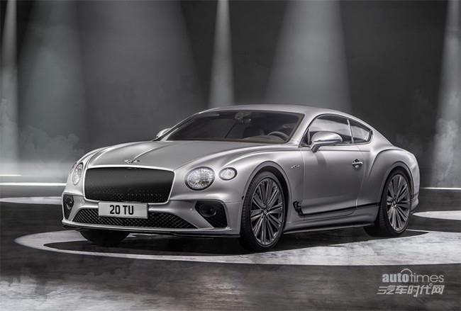宾利欧陆GT Speed发布 搭载6.0T双涡轮增压【汽车时代网】
