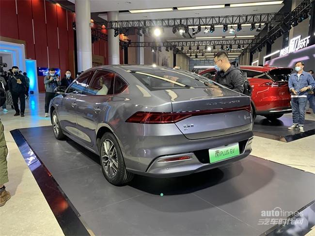 比亚迪秦PLUS EV上市 售价12.98-16.68万元