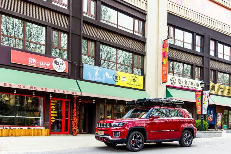10万级硬派之作 北京越野全新承载式SUV  BJ30正式上市