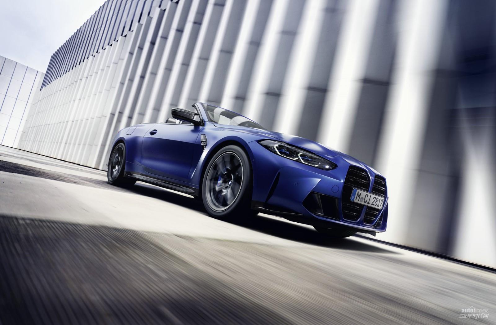 全新BMW M4敞篷轿跑车雷霆版全球首发【汽车时代网】