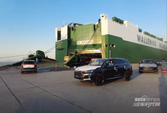 比亚迪首批唐EV今日启航挪威 售价59.99万克朗